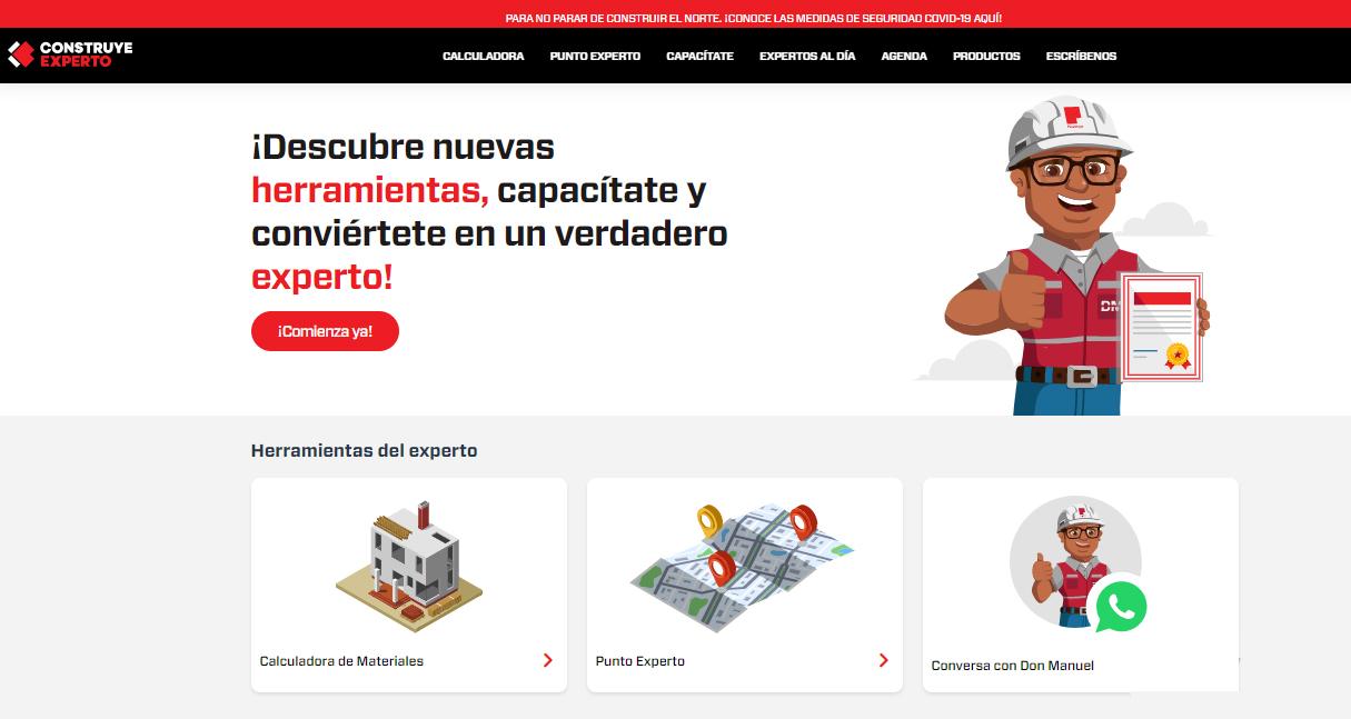 web Construye Experto
